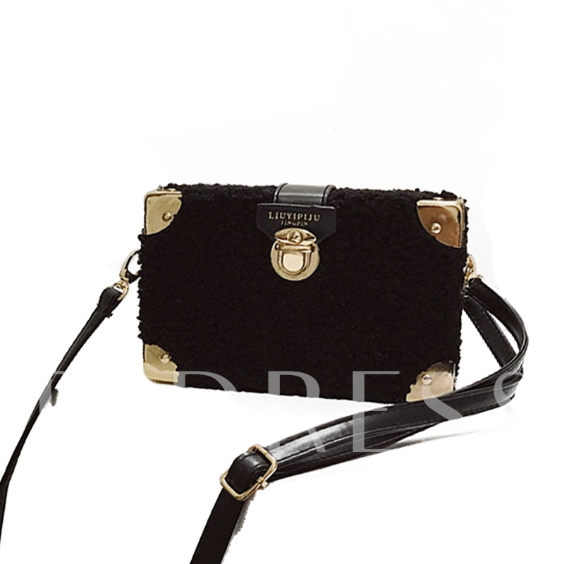 Casual Plush Women CrossBody Bag