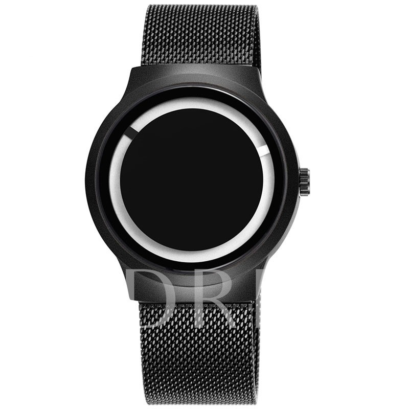 Alloy Soild Steel Buckle Hardlex Men's Watches