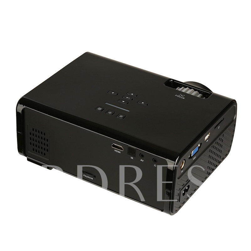 U45 Mini Portable Projector 1080P LED HD Home Cinema
