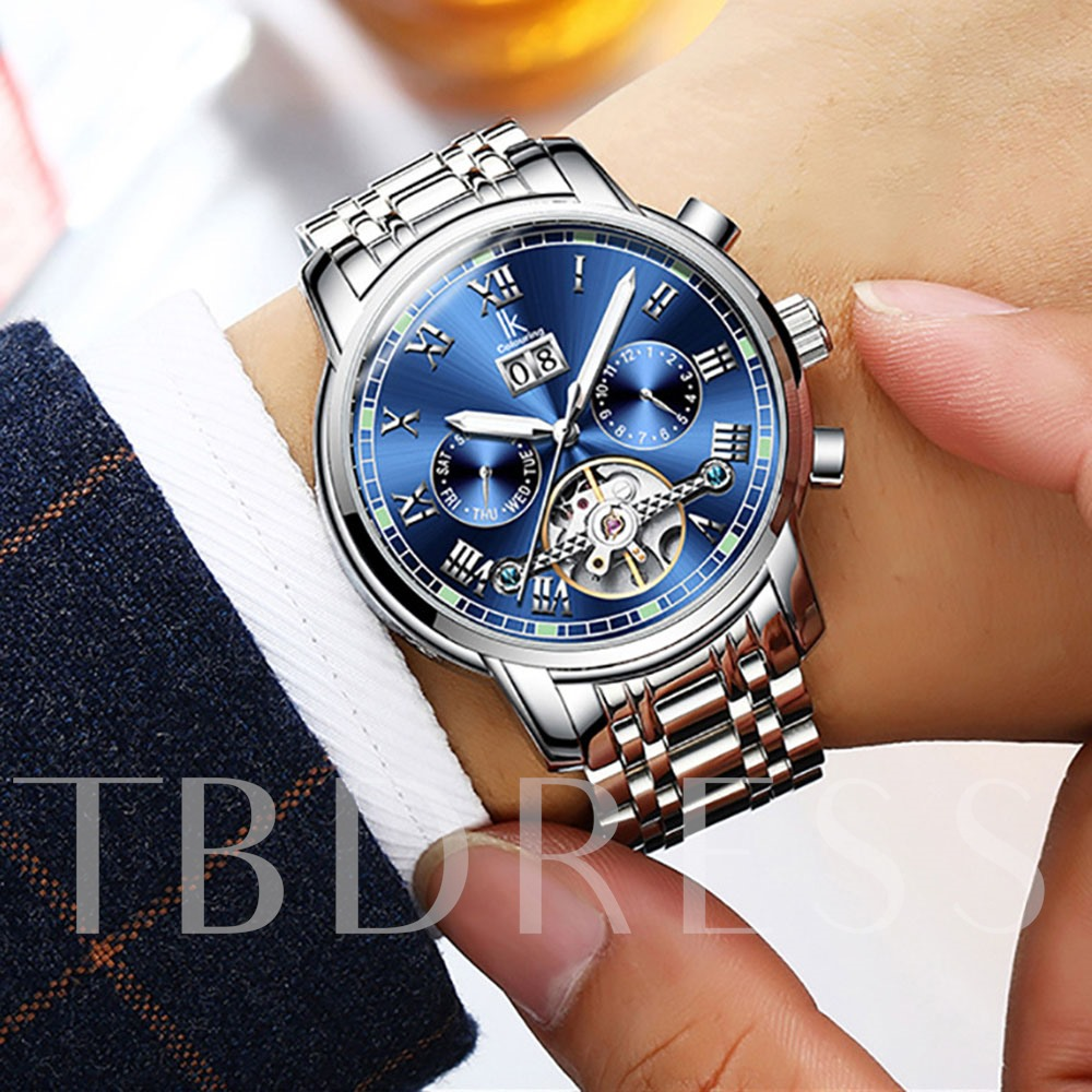 Mirror Hardlex Waterproof Luminous Men's Watches