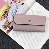 Concise Long Type Candy Color Women Wallet