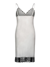 V-Neck Pullover Lace Above Knee Nightgown