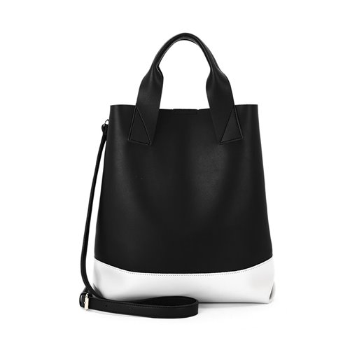 Korean Style Patchwork Canvas Tote Bag