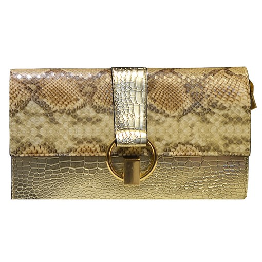Classic Serpentine Pattern Women Clutch