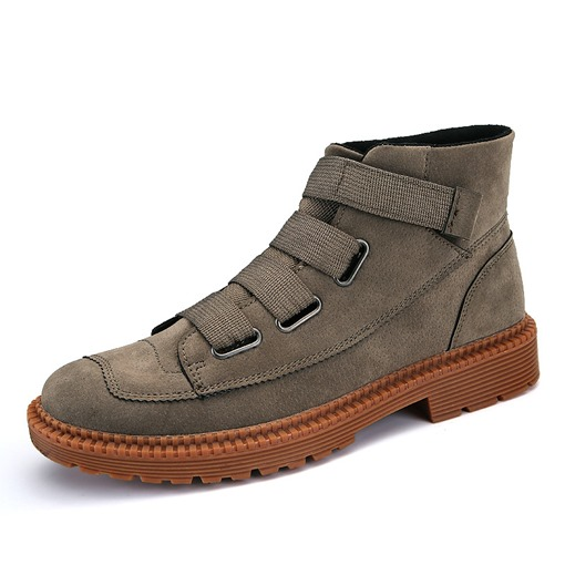 Skidproof Wearable Nubuck Leather Men's Ankle Boots