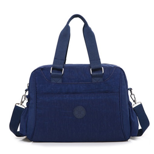 Sport Style Solid Color Unisex Zipper Tote