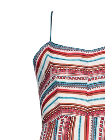 Color Block Stripe Backless Vacation Women's Maxi Dress