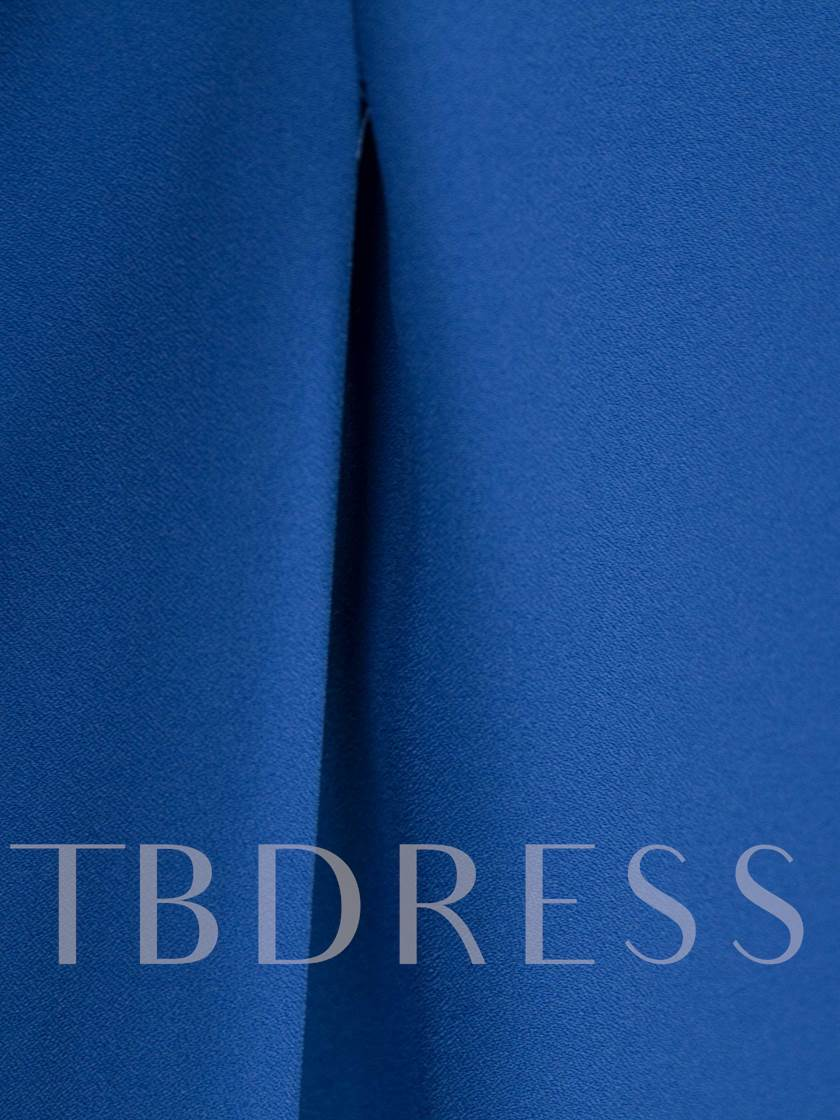 Stand Collar Stringy Selvedge Hollow Women's A-Line Dress