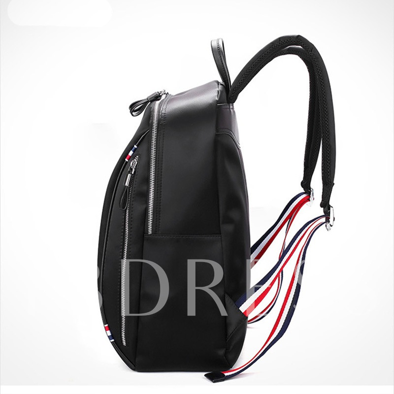 Fashion Soft Oxford Zipper Backpack