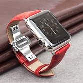 Artificial Leather Smart Watch Band for Apple Watch iWatch 3/2/1