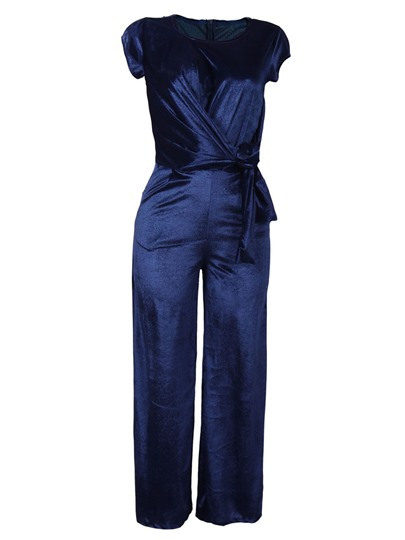 Loose Wide Legs Stretchy Women's Jumpsuit