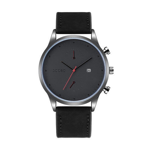 Simple Calendar Display Artificial Leather Men's Watches