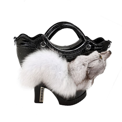 Distinctive High-Heeled Shoe Design Women Tote