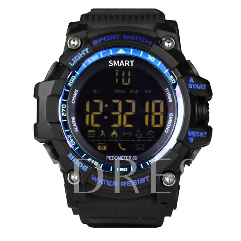EX16 Smart Watch 5ATM Waterproof for Apple iPhone Android Phones