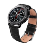 Samsung Gear S2/S3 Smart Watch Band,Artificial Leather Strap