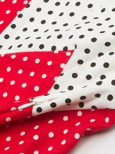 Halter Polka Dots Women's A-Line Dress