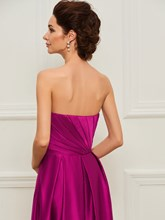 Strapless Beaded Mother of the Bride Dress