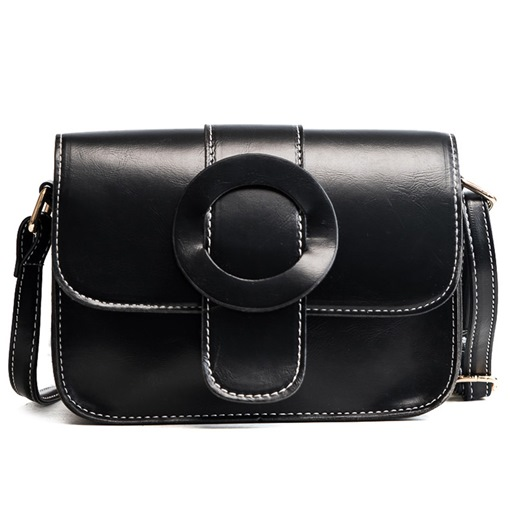Well Match Plain Mini Cross Body Bag