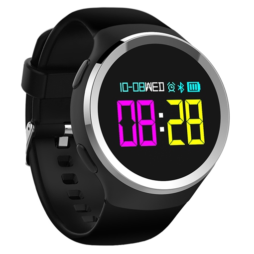 N69 Android Smart Watch Fitness Tracker Waterproof Round Touch Screen