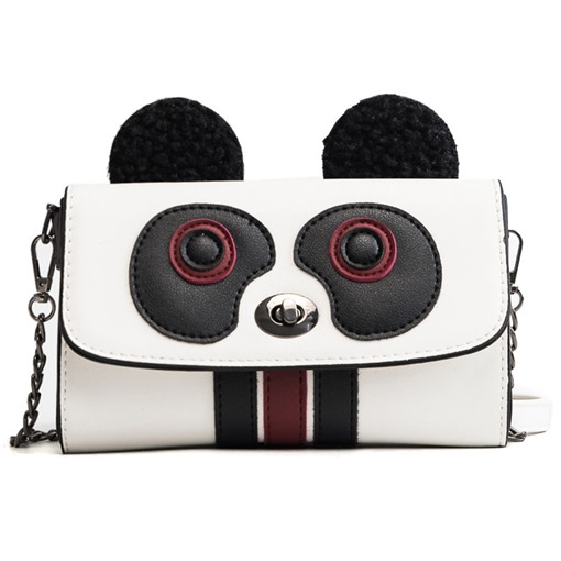 Cute Cartoon Panda Design Cross Body Bag
