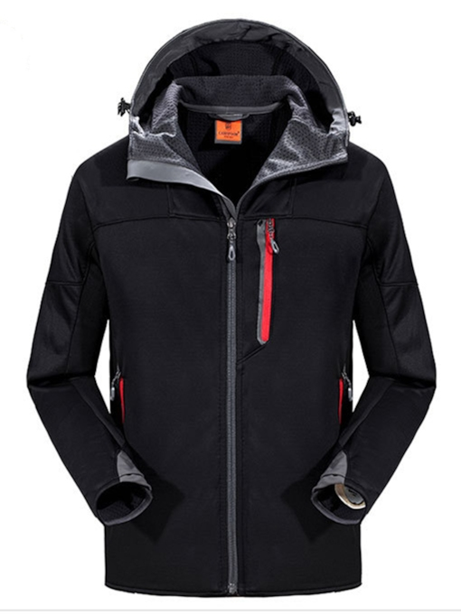 Skiing Waterproof Male Solid Single Tops