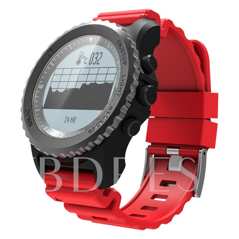 S968 Outdoor Smart Watch Support GPS/Altitude/Diving for iPhone Android Phones
