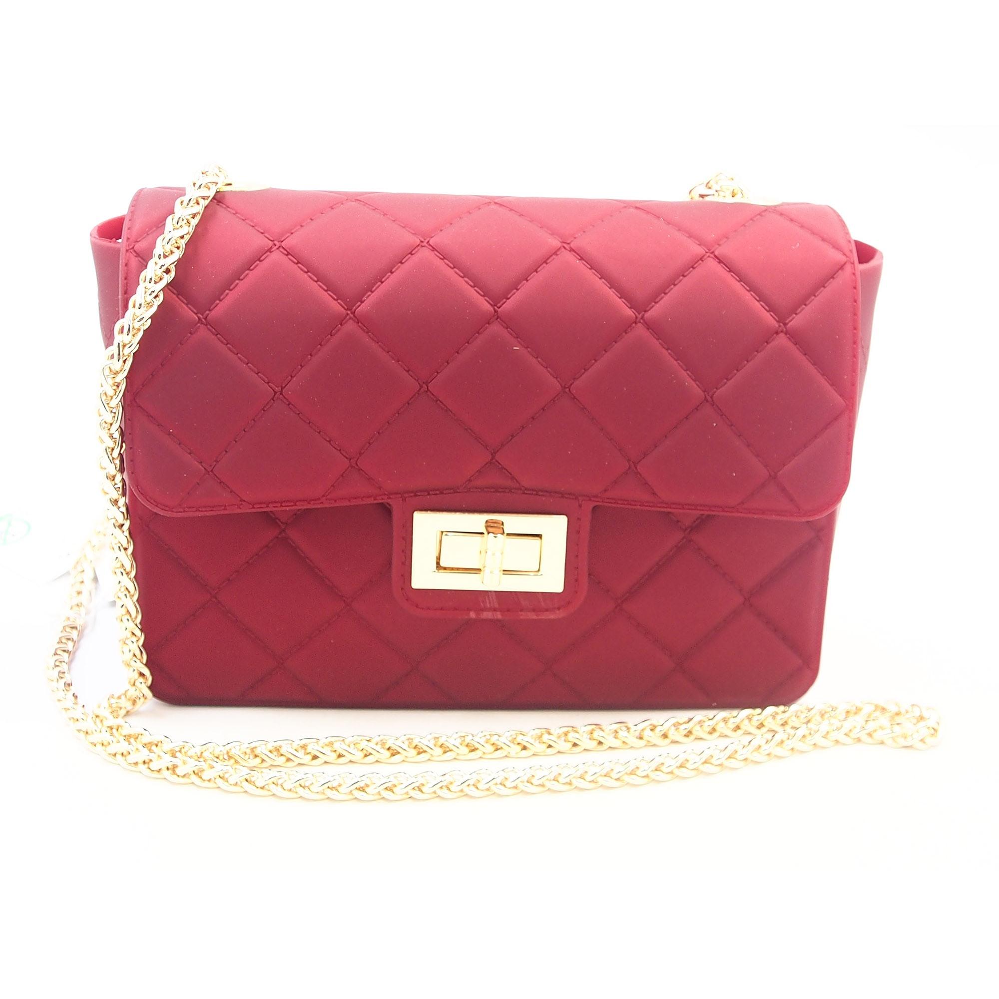 Trendy Quilted Lining Solid Color Women Cross Body