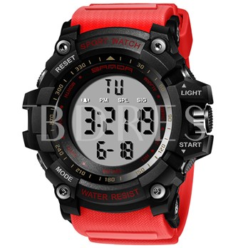Water Resistant Light Button Men's Watches
