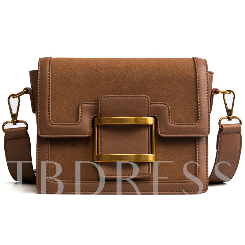 Casual Cover PU Cross Body Bag