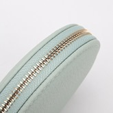 Circular Solid Color Chain Women Wallet