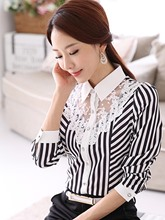Plus Size Available Women's Blouse For Office