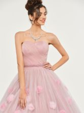 Sweetheart Appliques Beading Flowers Quinceanera Dress