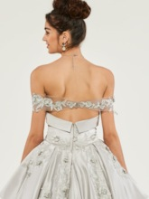 Appliques Sweetheart Empire Quinceanera Dress