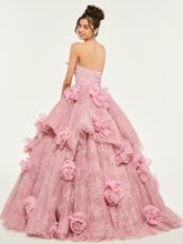 Sweetheart Lace Empire Quinceanera Dress