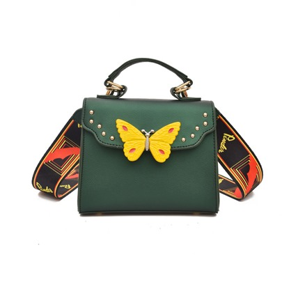 Korean Style Butterfly Decoration Crossbody Bag