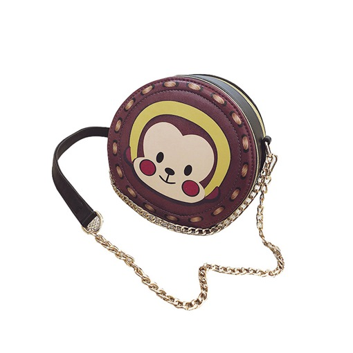Lovely Cartoon Prints Cross Body Bag