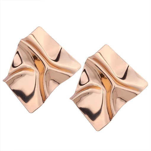Metal Irregular Alloy Shining Earrings