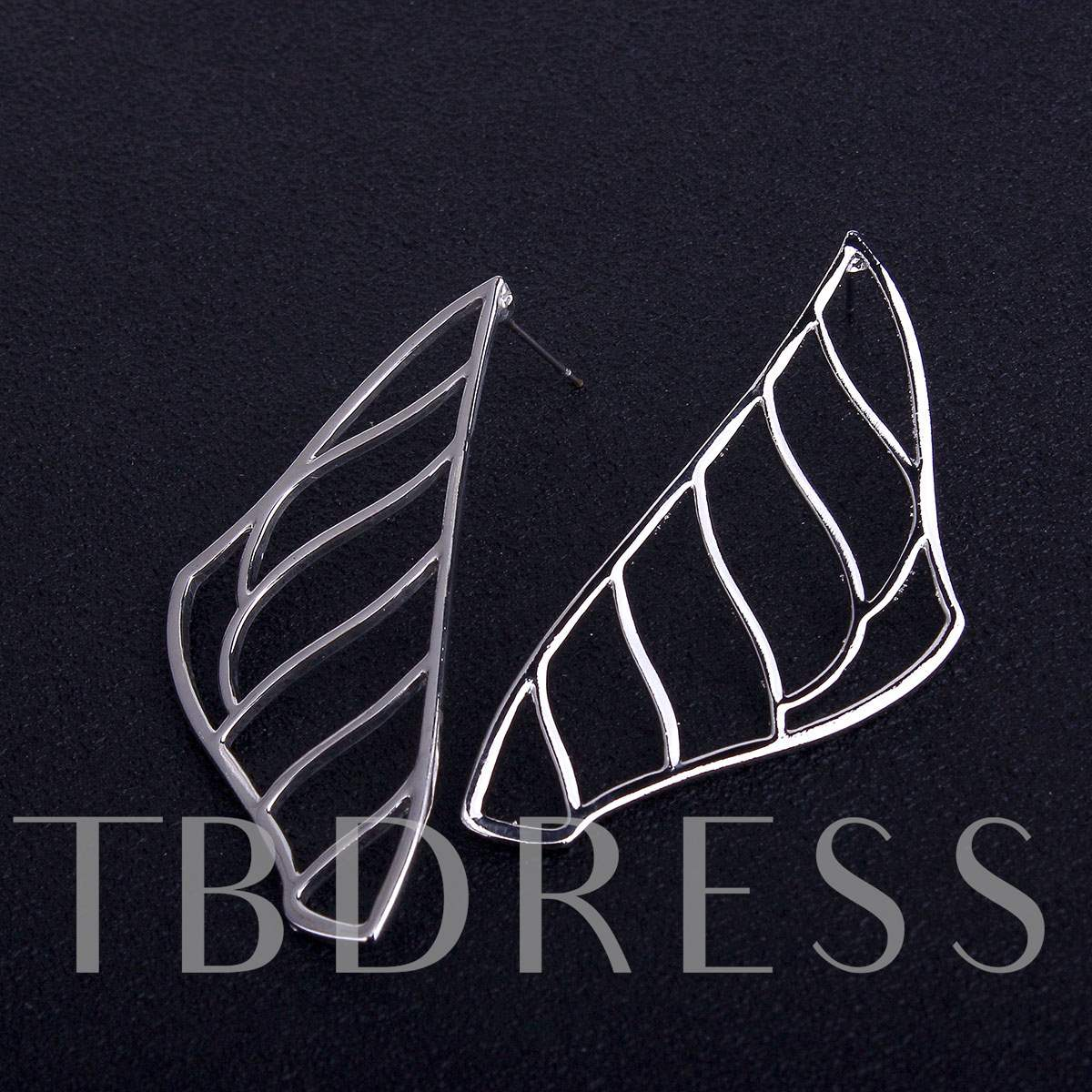 Hollow Out Irregular Alloy Earrings