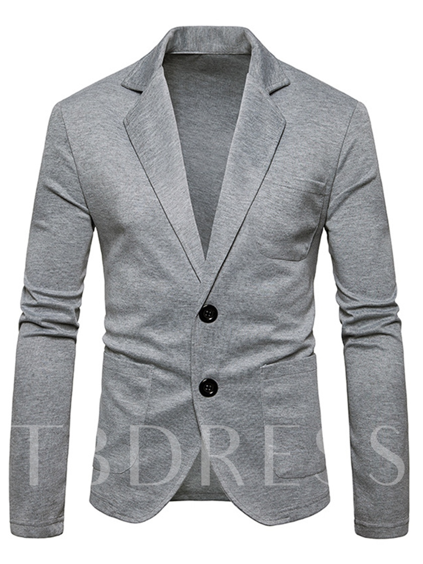 Cardigan Solid Color Plain Men's Leisure Sweater