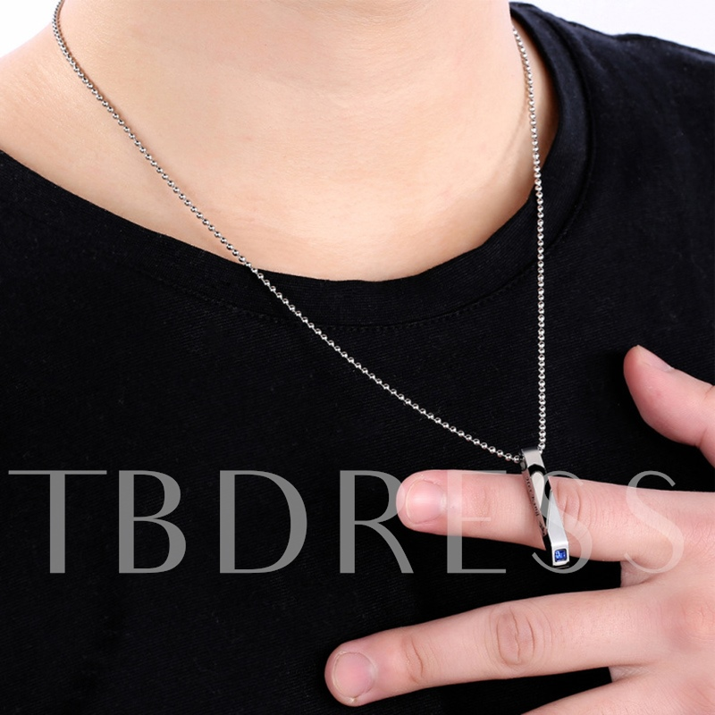 Patchwork Beads Chain Lovers Necklace
