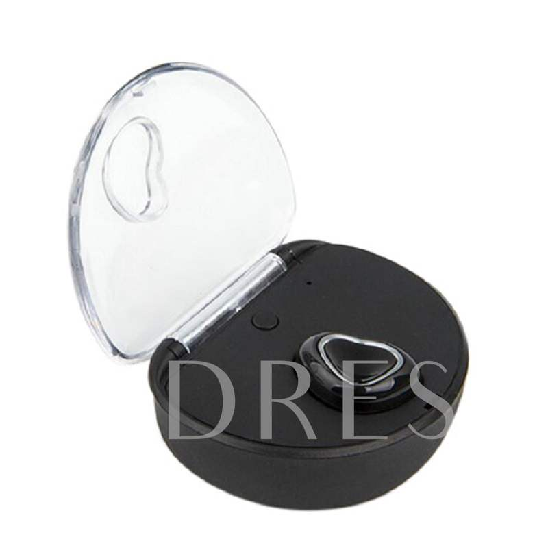 Mini Invisible Headset In-ear Wireless Headphone with Mic