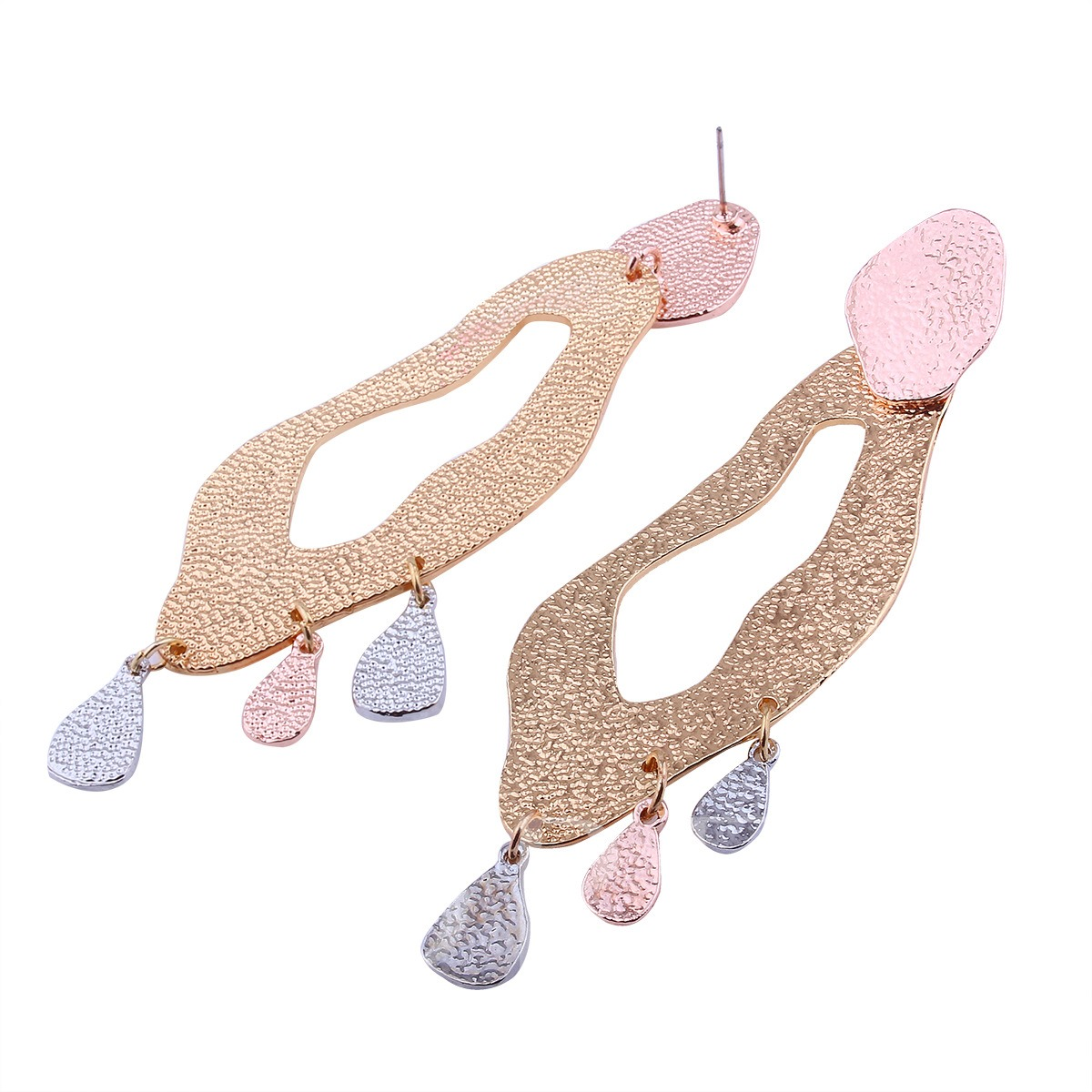Irregular Geometric Hollow Out Earrings