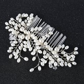 Bronze Wire Imitation Pearl Hair Accessories