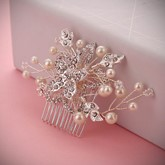 Diamante White Gold Plated Hair Accessories