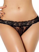 Low-Waist See-Through Lace Panty