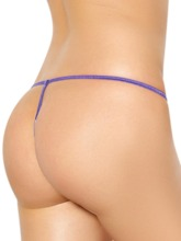 Lace Plain Sexy G-String Micro Thong