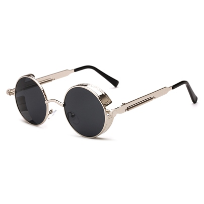 Spring Metal Round Personalized Sunglasses