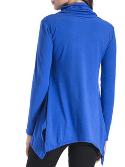 Asymmetric Heap Collar Women's T-Shirt