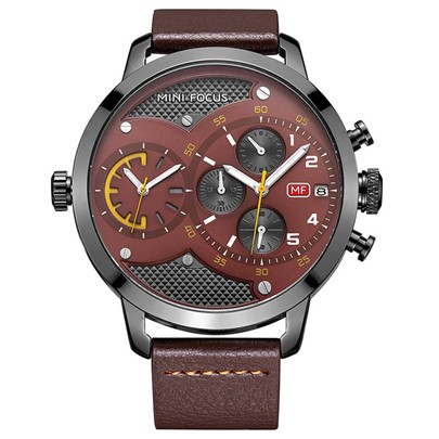 Water Resistant Quartz Multifunctional Men's Watches