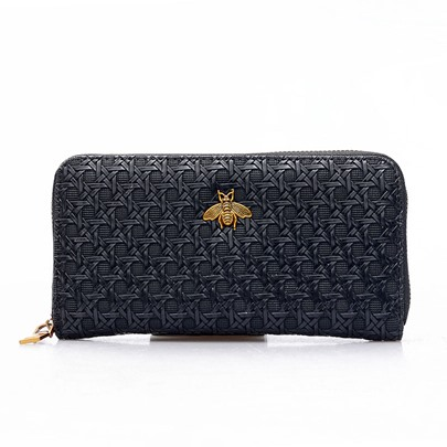 Long Type PU Zipper Women Wallet